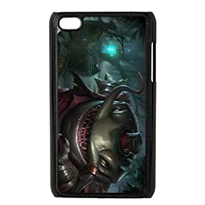 iPod Touch 4 Case Black League of Legends TahmKench Tiyn