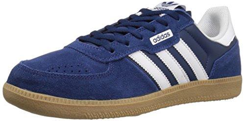 adidas Originals Mens Leonero Fashion Sneaker Mystery Blue/White