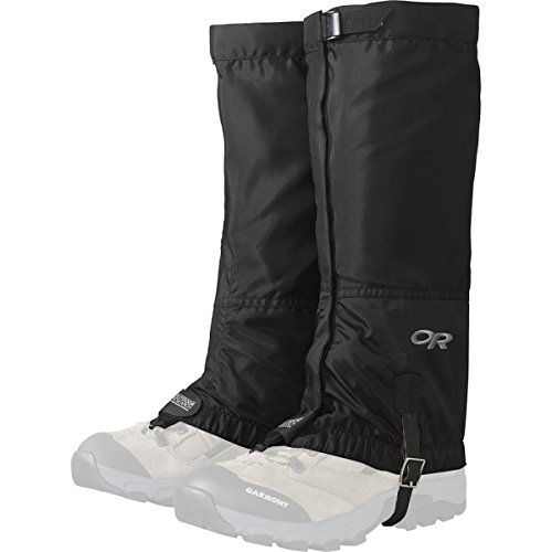 Outdoor Research Women's Rocky Mt High Gaiters Black Overshoe M, Women's 7-9 M,