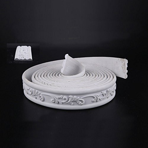 Background Wall Door Flexible Molding Ceiling Wall Waist Trim Rope Waist Mouldings width 1.8 inch/ thickness 0.31 inch (1.8