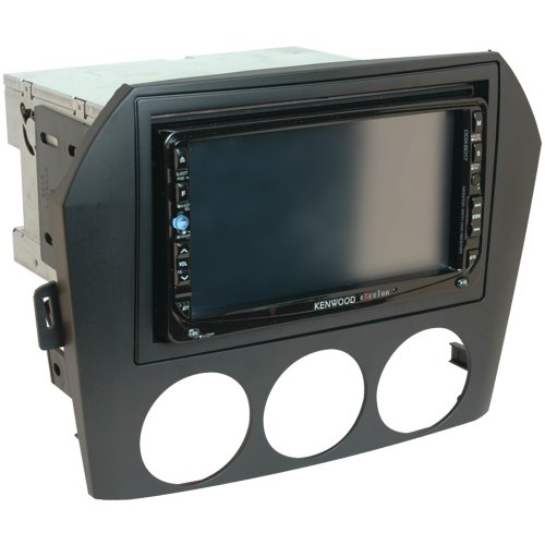 SCOSCHE MA1532B 2006-08 Mazda Miata/MX-5 Double DIN or DIN w/pocket Install Dash Kit (Miata Radio Installation Kit)