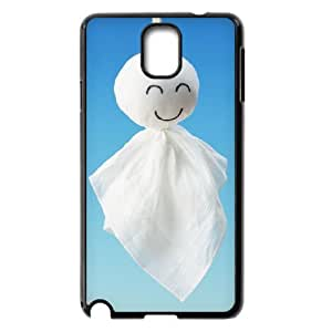 WJHSSB Customized Print Smile Face Hard Skin Case Compatible For Samsung Galaxy Note 3 N9000