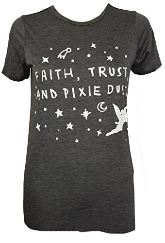 Disney-Faith-Trust-Pixie-Dust-Tinkerbell-Juniors-Boyfriend-Cut-T-shirt