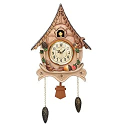 Diyida Vivid Large Cuckoo Clock、Wall Cuckoo Clock,Chime has Automatic Shut-Off [Kitchen & Home]