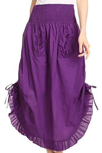 Bohemian Style Skirts - 8