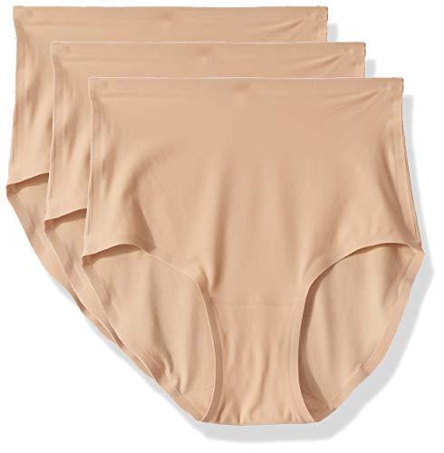 Chantelle Women's Soft Stretch One Size Seamless Brief (3-Pack), Ultra Nude, OS (Women Briefs Chantelle Underwear)