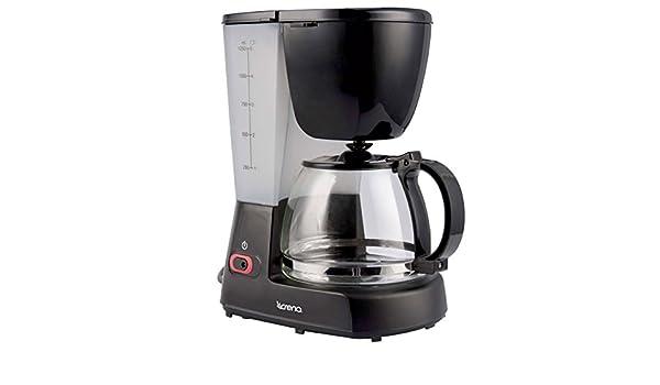 Crena CREN037 Cafetera de goteo, 1.25 litros: Amazon.es: Hogar