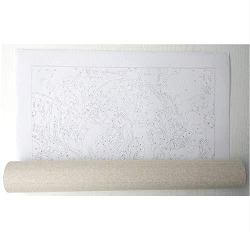 Yyboo DIY Malen Nach Zahlen Digitales Ölgemälde Auf Leinwand Leinwand Leinwand Geschenk Erwachsene Kinder Kits Home Dekorationen - Feuer-Drachen (Holzrahmen) B07PHT65HY | Neueste Technologie  cd5c0f