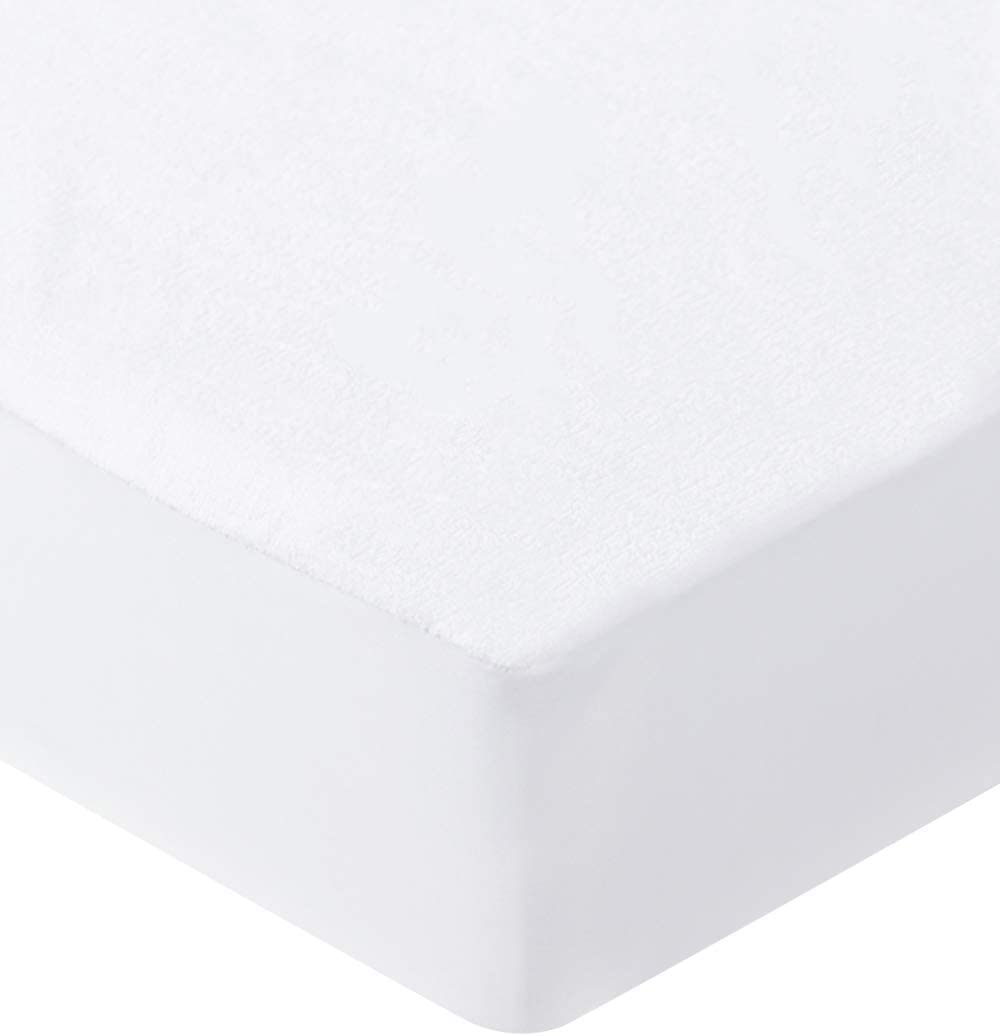 Bedecor-Protector de colchón Impermeable,Bambú,30 cm de Profundidad,Apto para la Piel,No Ruidoso e hipoalergénico - 90x190/200cm