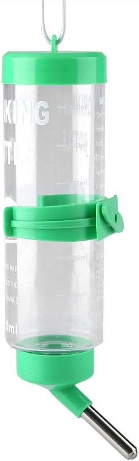 FTVOGUE 250ML dispensador automático de Agua y de Comida para biberón para Mascotas dispensador de Agua para hámster Rata