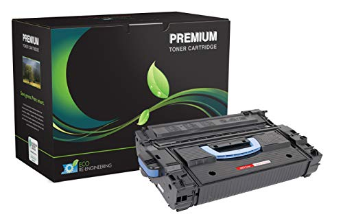 Inksters Remanufactured Toner Cartridge Replacement for HP C8543X MICR (HP 43X) 02-81081-001 - Used with HP Laserjet 9000 9000N 9000DN 9000HNF 9040 9040N 9040DN 9050-30K Pages (Black)