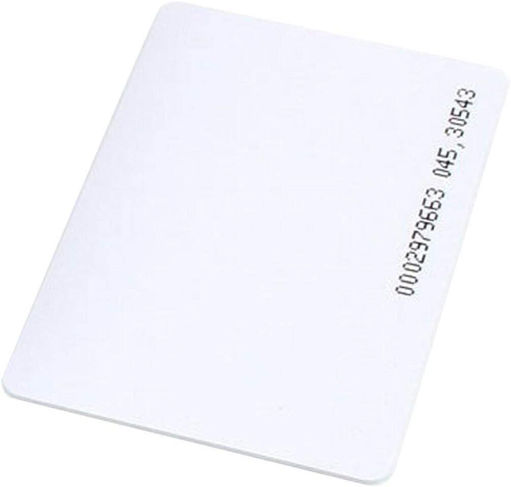New 50pcs 125KHz RFID Cards EM4100 TK4100 Proximity ID Cards for Access Control