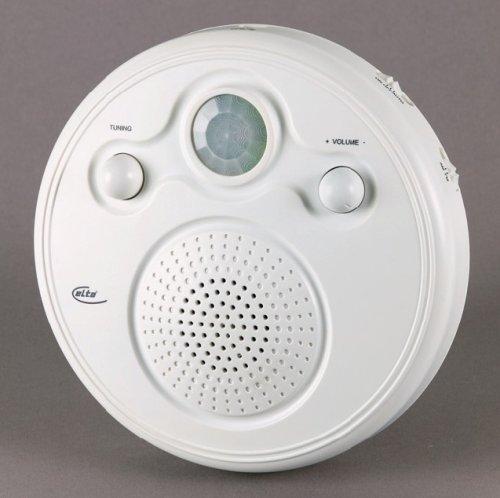Elta 3649 Decken- / Wandradio mit integriertem Bewegungsmelder weiß