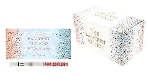 Wondfo Extra Wide Tests - by The Babydust Method - 25 HCG pregnancy test strips (Best Internet Cheapie Pregnancy Test)