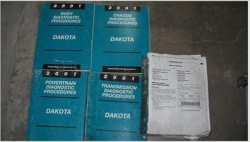 dodge dakota 2001 full service repair manual