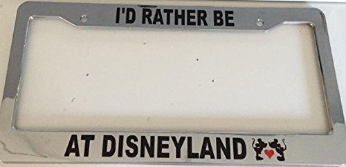 disney chrome license plate - 8