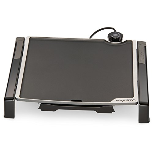 - Presto 07071 Electric Tilt-N-fold Griddle, 15