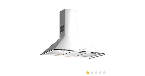 Teka - Campana decorativa pared dm975w blanco clase de eficiencia energetica a: 272.46: Amazon.es: Hogar