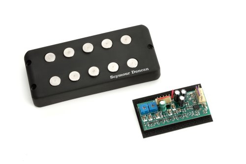 Seymour Duncan SMB-5S Music Man 5-string Pickup w/ STC3M4 Preamp Set New ()