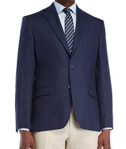 (Lauren Ralph Lauren Navy UltraFlex Linen Sport Coat Size 50 Long)