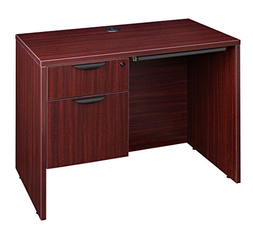 Regency LSP4224CD1MH Desk with Pencil Drawer Legacy Single Pedestal 42