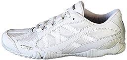 Kaepa Youth Stellarlyte Cheer Shoe (Pair), White, 2