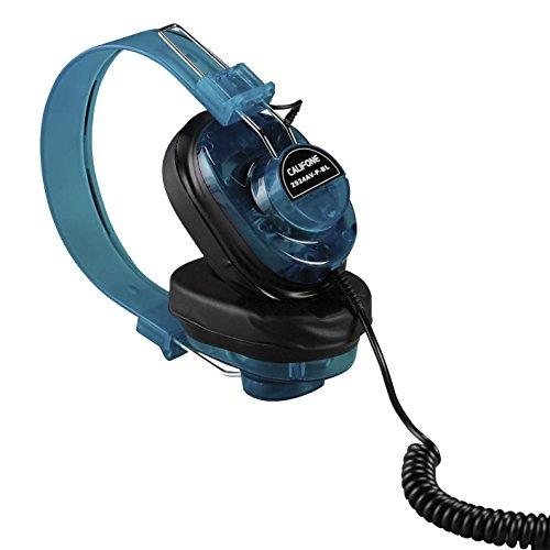 Califone 2924AVP-BL Deluxe Monaural Headset, Blueberry