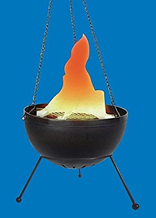 Deko Feuerschale, Feuerstelle, Kunstfeuer, Dekoration für Advent ...