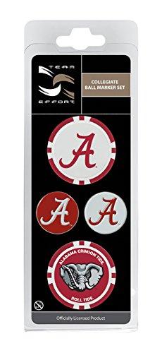 - Team Effort Alabama Crimson Tide Ball Marker Set