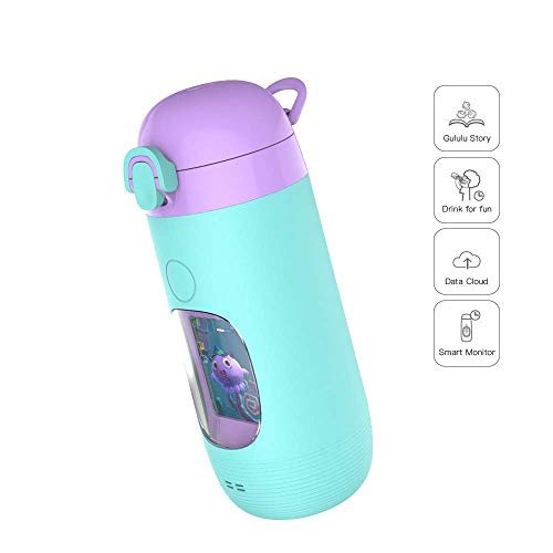 Smart Water Bottle for Kids - GululuGo Interactive Water Bottle Includes Games and Stories Along with a Health Tracking Smartphone App, 350ml Smart Water Bottle for Kids by Gululu (Image #6)