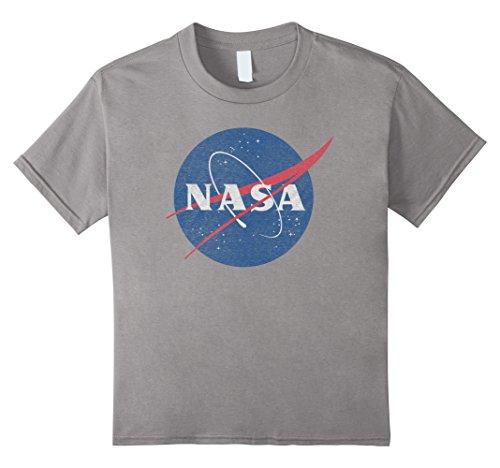 Kids NASA Classic Graphic T-Shirt 6 - Shirt Slate T