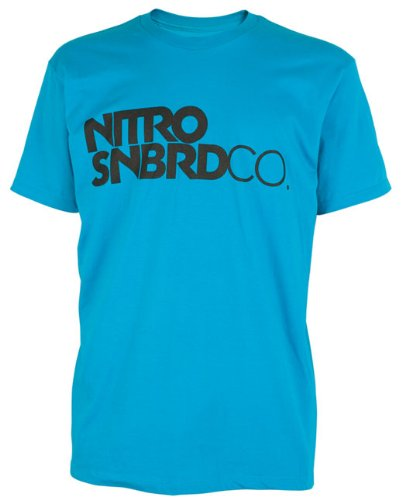 Nitro Snowboards Herren T-Shirt WORD MARK SS, acid, L, 1111-872789