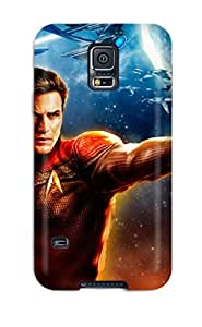 Durable YY-ONE For Galaxy S5 Tpu Cover(star Trek Online Game Hd)