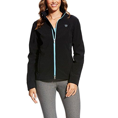 Ariat Women's Endeavor Softshell Jacket Black Large - Ariat Fleece