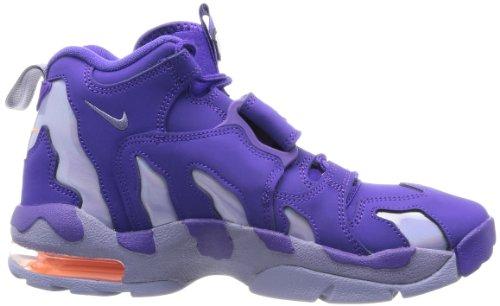 Nike Air DT Max 96Hombre Round Toe charol morado zapato de baloncesto CRT PURPLE/IRN PRPL-ATMC ORNG