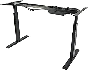 Amazon Com Vivo Electric Stand Up Desk Frame Only Solid