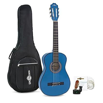 Pack de Guitarra Española Junior 1/2 de Gear4music - Azul