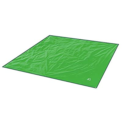 Terra Hiker Camping Tarp, Waterproof Picnic Mat, Mutifunctional Tent Footprint with Drawstring Carrying Bag for Picnic, Hiking