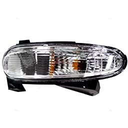 TYC 12-5248-01 Buick Lacrosse Front Driver Side Replacement Parking/Signal Lamp Assembly
