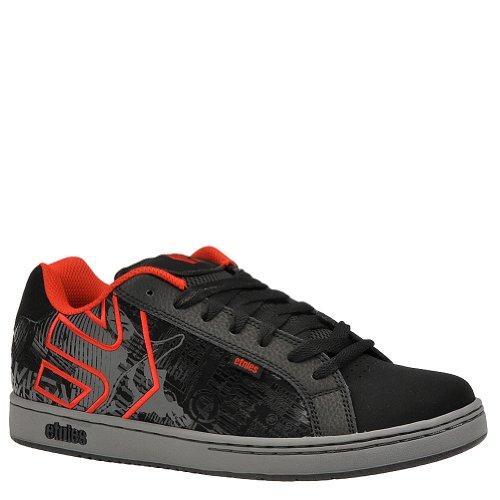etnies Men's Metal Mulisha Fader Skate Shoe - 9 M - Black-Grey-Red