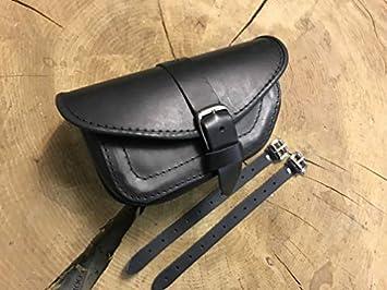 Orletanos Muscle Black Linke Seitentasche Kompatibel Mit Vrod V Rod Night Rod V Rod Satteltasche Linke Seite Ledertasche Etui Hd Schwarz Auto