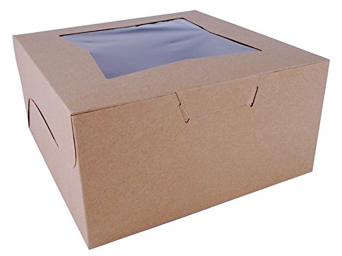 24 ct 6-cupcake Boxes 10 x 10 x 5 inch (also can use for 9