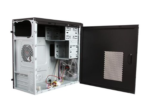 Rosewill Dual Fans MicroATX Mini Tower Computer Case with USB 2.0 Cases RANGER-M Black by Rosewill (Image #4)