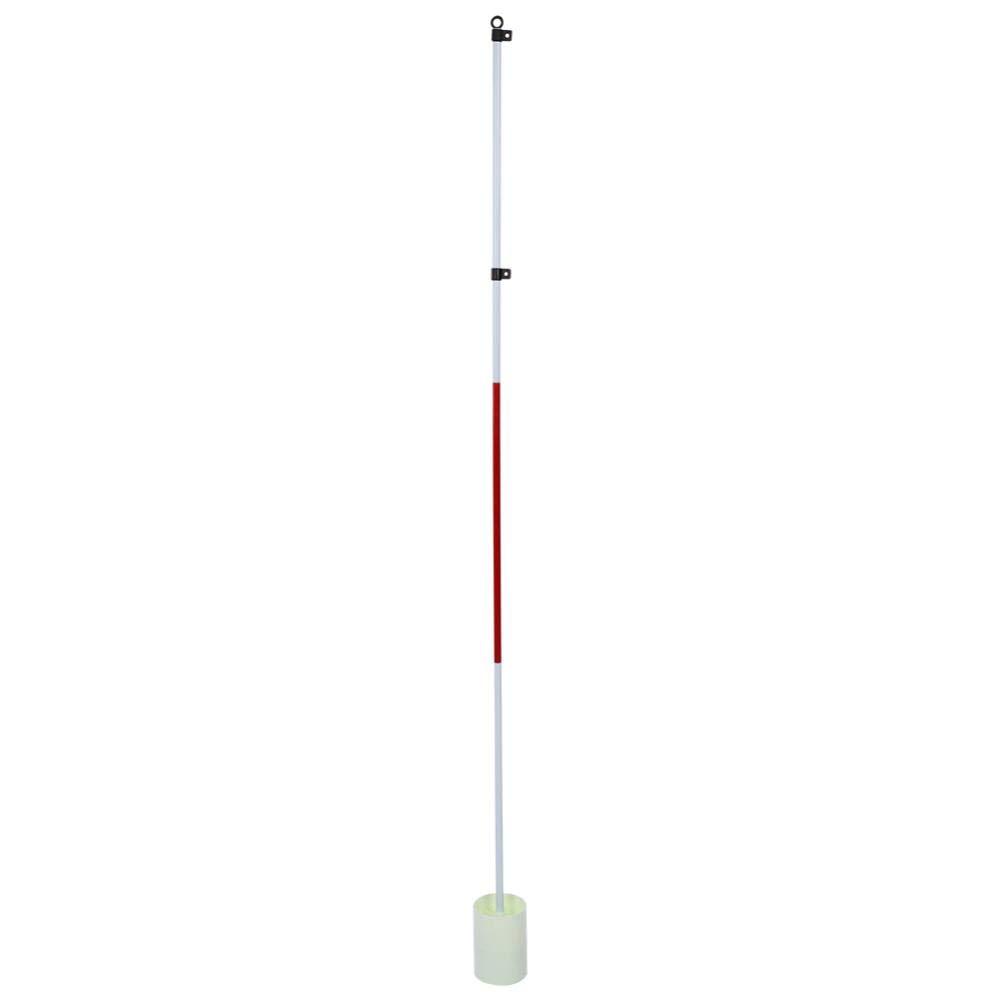 VGEBY Backyard Practice Golf Hole Pole Cup Flag Stick, Portable Putting Green Golf Training Flagstick