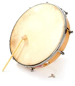 Percussion Plus - Pandero (12 pulgadas, 30,48 cm)