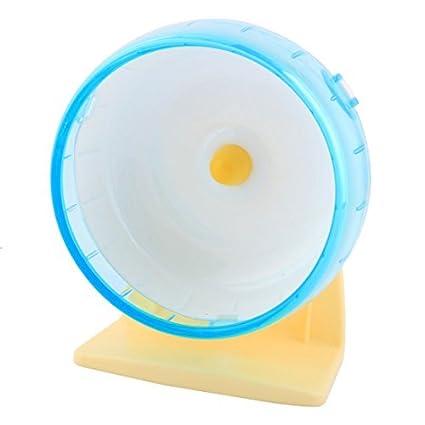 eDealMax plástico juguete de la diversión la Banda de rodamiento Para mascotas rueda corriente Ejercicio Para