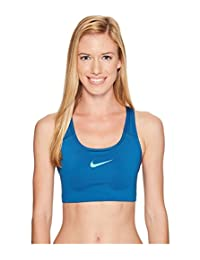 Nike Womens Swoosh Sports Bra Industrial Blue 842398-457 Size X-Small
