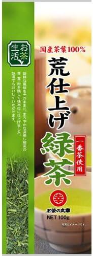 お茶の丸幸 お茶生活 荒仕上げ緑茶 100g
