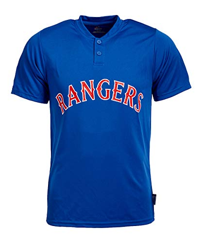 Majestic MLB Team T-Shirts (Rangers, XL) -