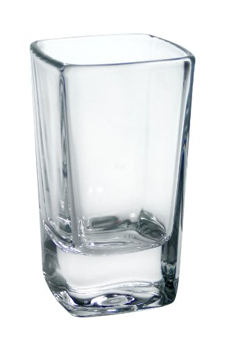 Square Shot Glass - Luminarc Cool Shots 6-Piece Square Shot Glass, 2-3/4-Ounce